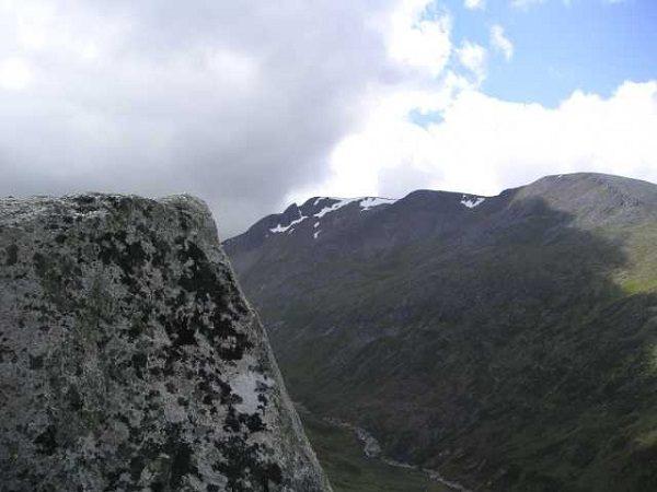 Càrn Mòr Dearg Mountain in Scotland