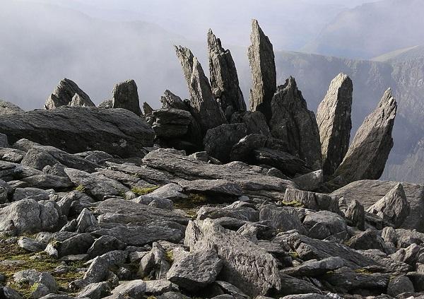 Glyder Fawr Mountain, Wales