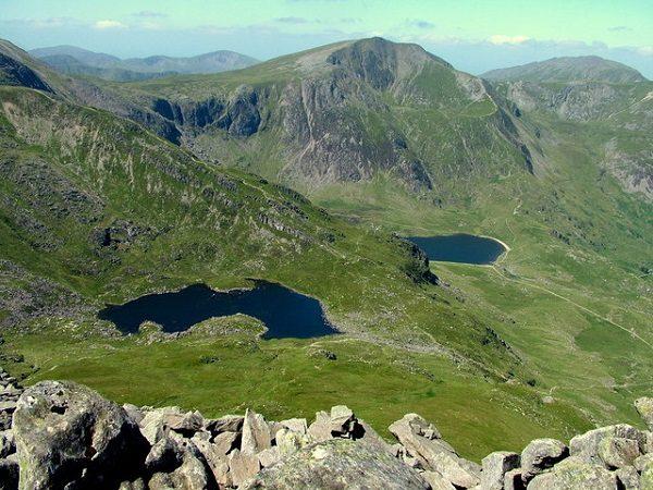 Y Garn Mountain, Wales
