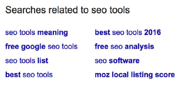 SEO Tool Search