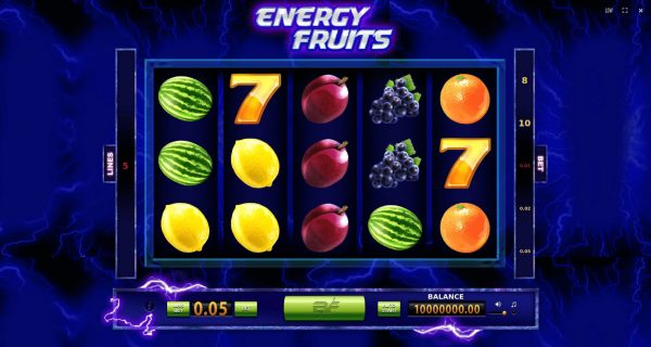 Play Now: Energy Fruits