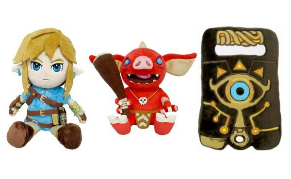Legend of Zelda: Breath of the Wild Plush Cuddly Toys
