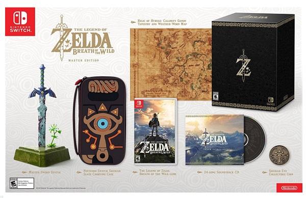 Legend of Zelda: Breath of the Wild Master Edition Game