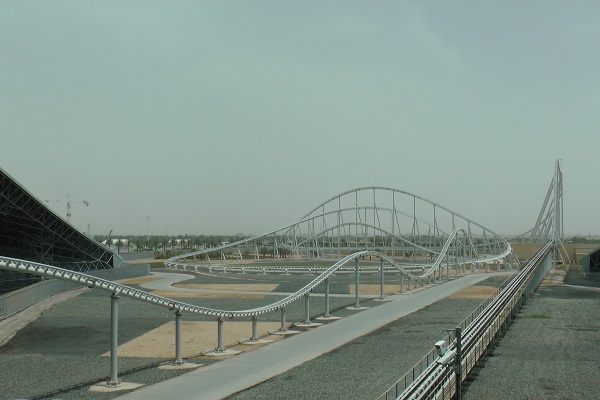 Formula Rossa in Ferrari World, United Arab Emirates