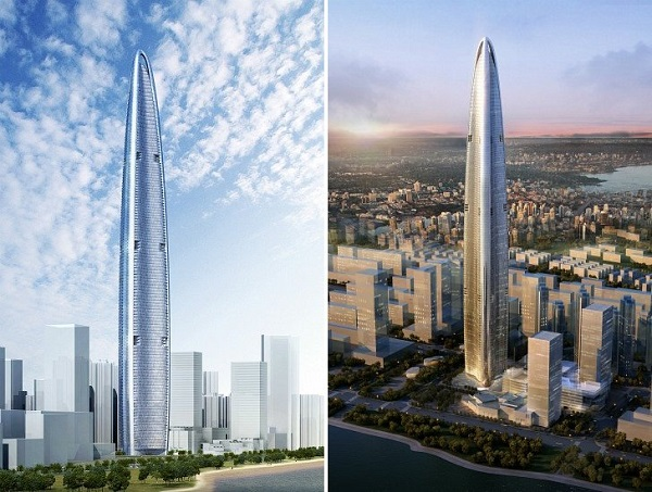 Wuhan Greenland Center in China