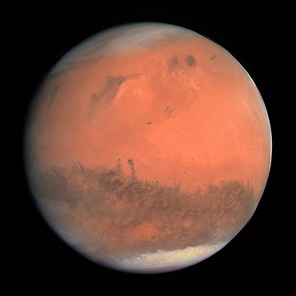 Arsia Mons Peak, Mars