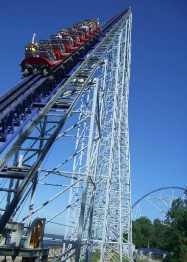 Millennium Force in Cedar Point, United States