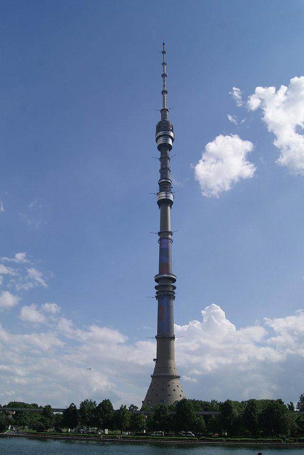 Ostankino Tower in Russia