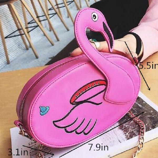 Flamingo Crossbody Bag