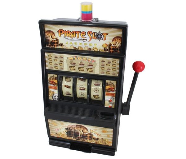 Miniature Pirate Slot Machine