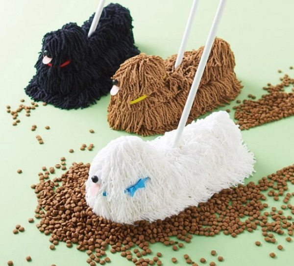 Mop That Looks Like a Dog