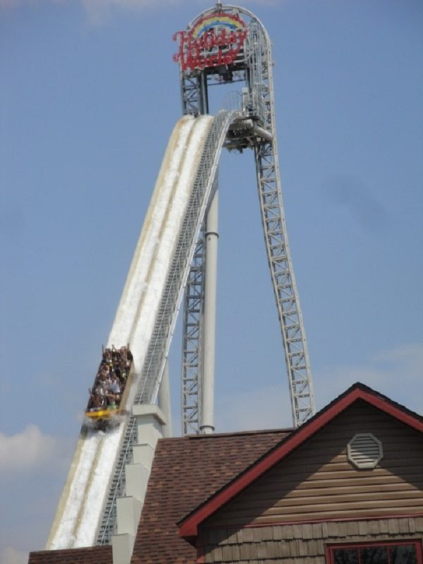 The World's Tallest Log Flume (water ride)