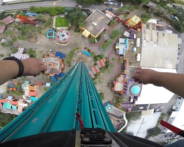 The World's Tallest Free-standing Drop Ride