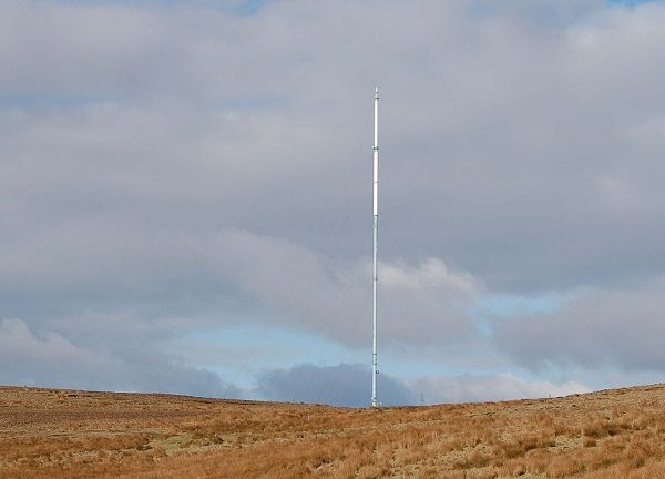 Winter Hill Communication Mast in Manchester