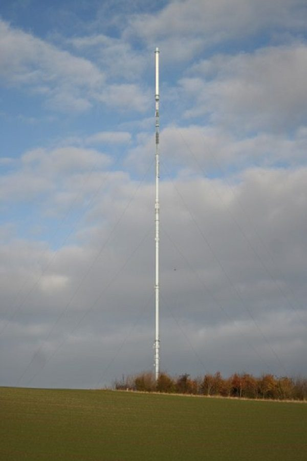 Belmont Communication Mast in Lincolnshire