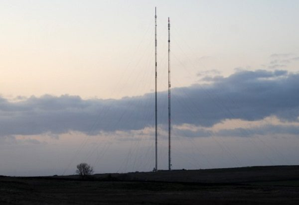 Caldbeck Communication Mast in Cumbria