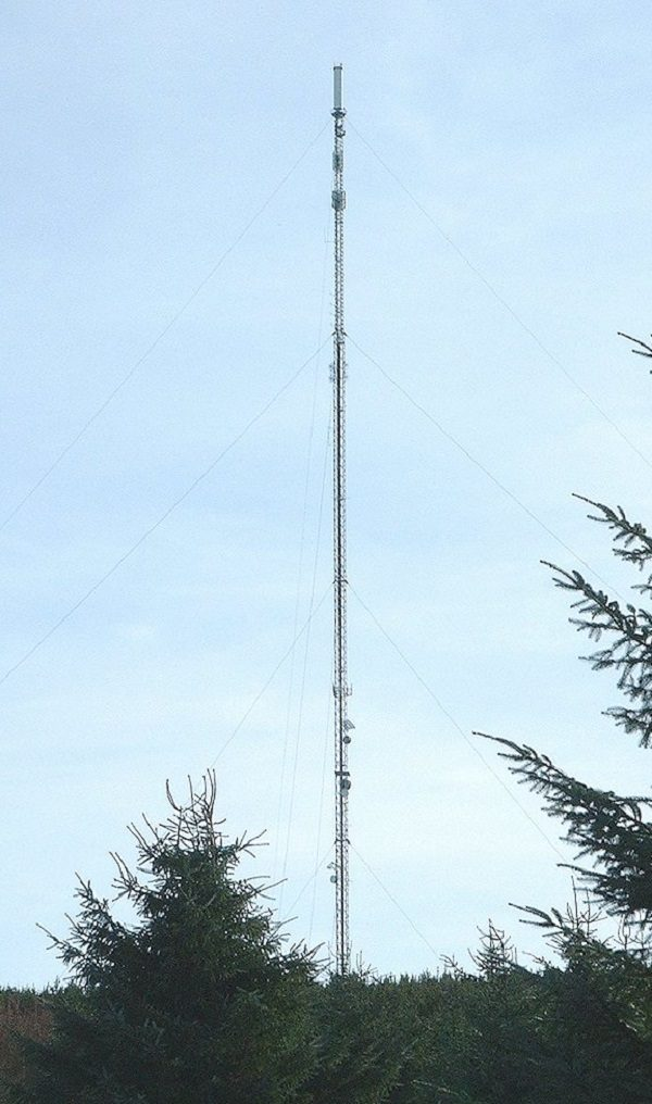 Durris Communication Mast in Aberdeenshire