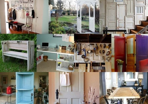 Ten Amazing Things to Can Make and Do With Old Doors