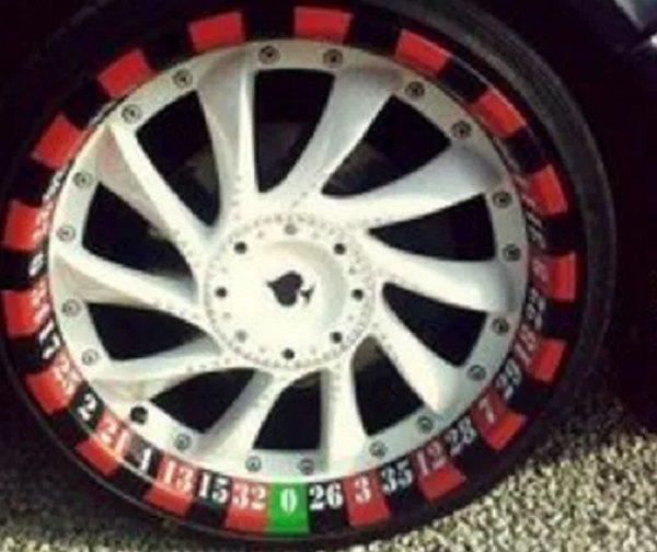 Roulette Wheel Car Wheels