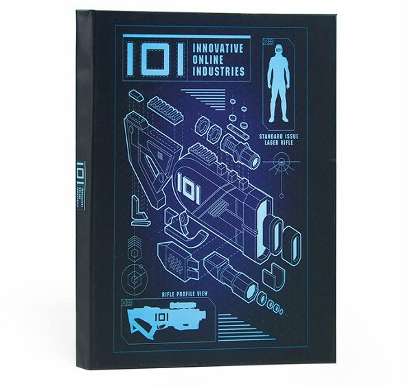 IOI Notebook from Ready Player One