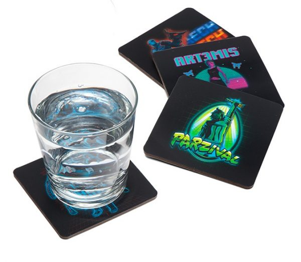 Ready Player One Set of 4 Lenticular Coasters