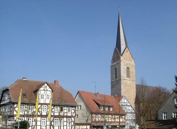 Tower of St. Nikolai, Germany