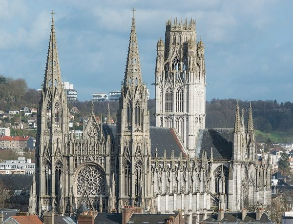 Tower of Rouen Cathedral, France