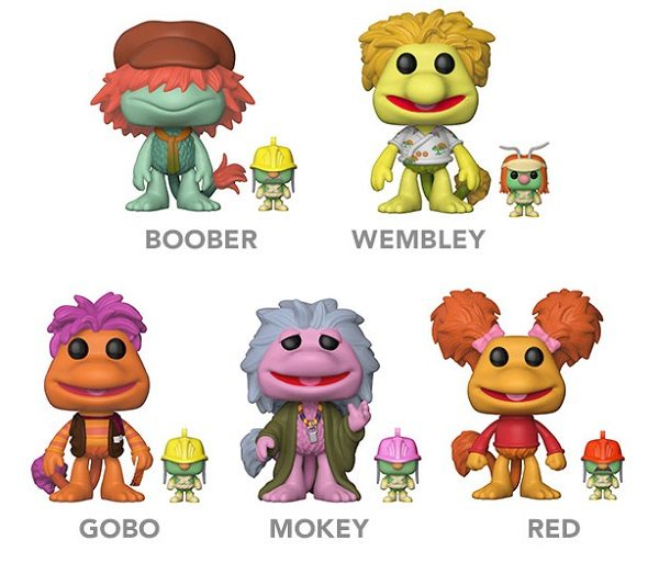Fraggle Rock Funko POP! Vinyl Figures