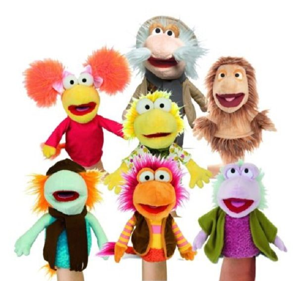 Fraggle Rock Hand Puppets