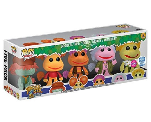 Flocked Fraggle Rock 5 CharactfeaturePack