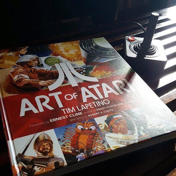 Art of Atari Book by Tim Lapetino