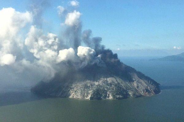 Kadovar Volcano, Papua New Guinea