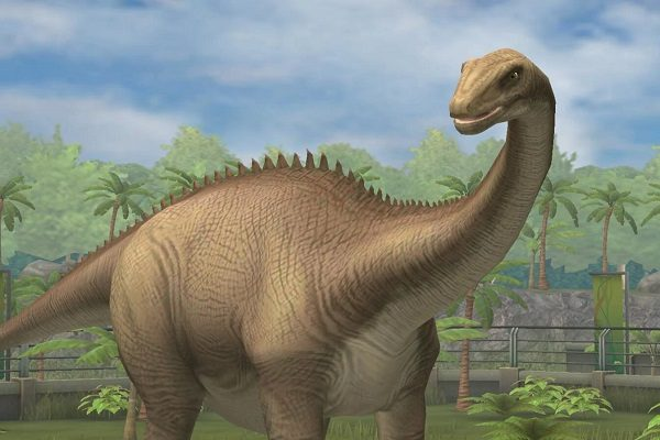 Diplodocus from the Diplodocidae Family