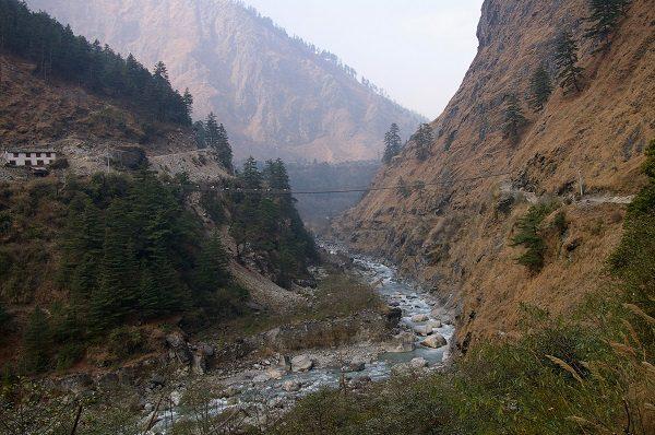Kali Gandaki Gorge in Nepal