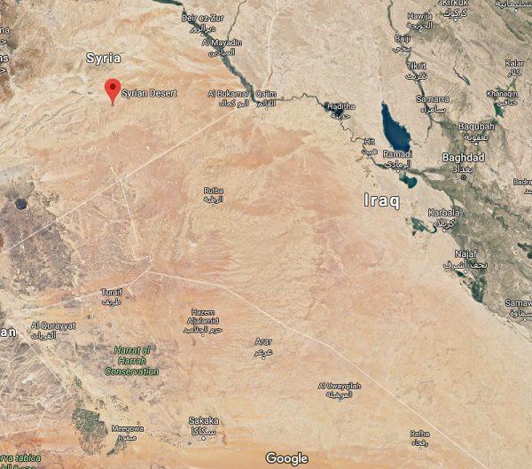 Syrian Desert in Asia