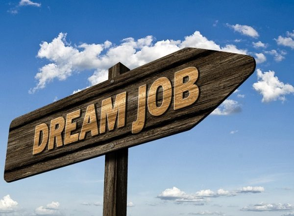 While at Work Work Toward Your Dream Job