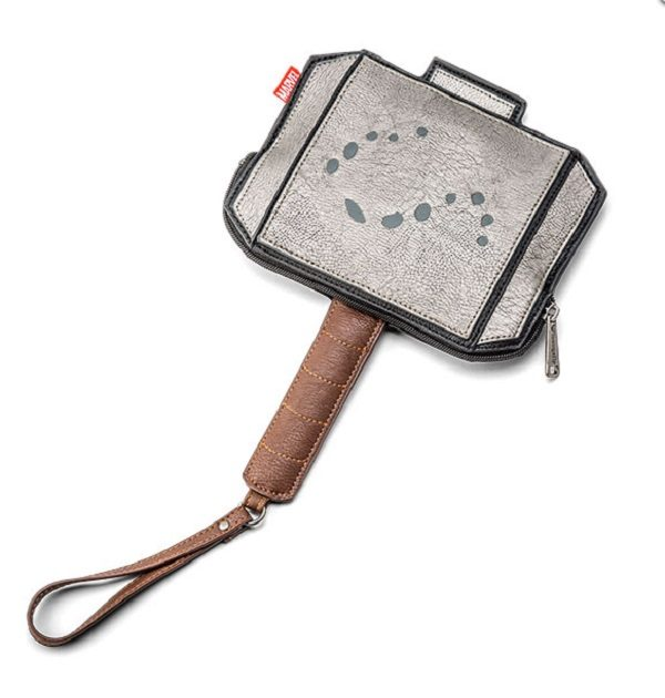 Coin Purse in the Shape of Thor's Hammer