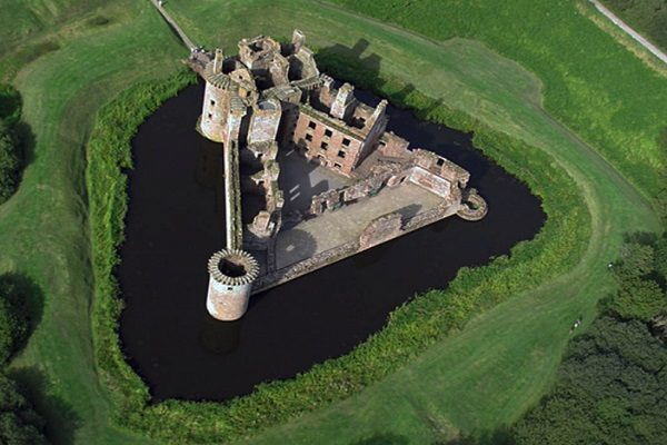 Caerlaverock Castle, UK