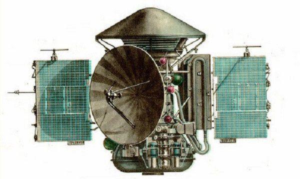 Mars 3 Planetary Probe