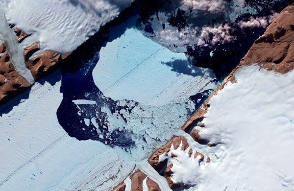 Petermann Glacier, Glacier in Greenland