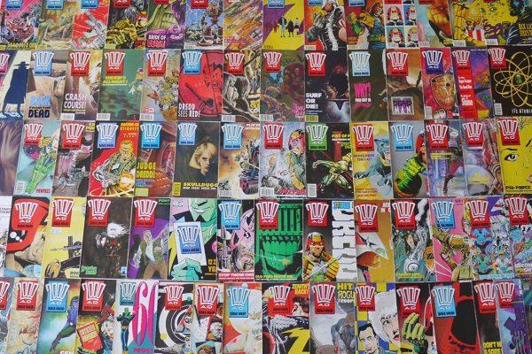 2000 AD Comic Books