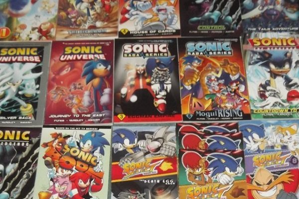 Sonic the Hedgehog Comic Books