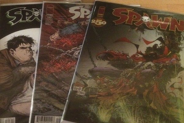 Spawn Comic Books