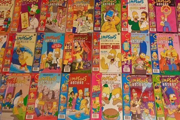 Simpsons Comic Books