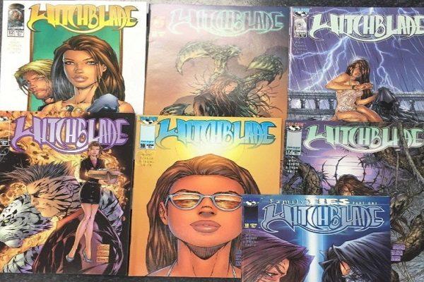 Witchblade Comic Books