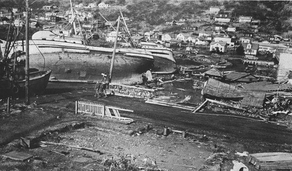 The Alaska Earthquake in 1964