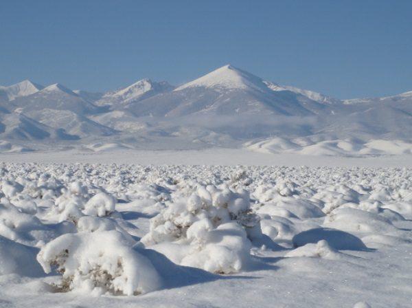 Great Basin Desert in United States
