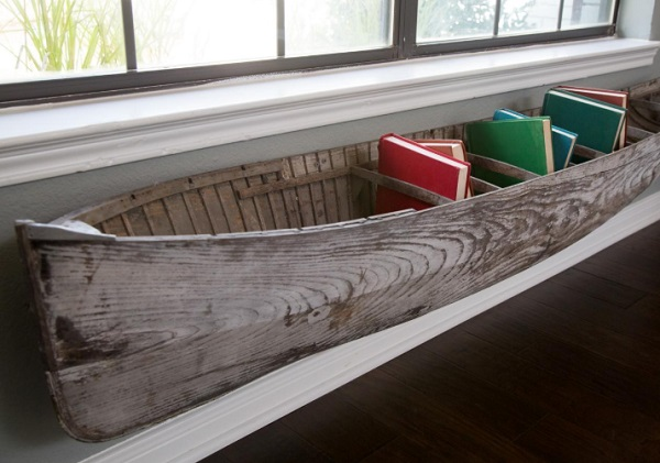 Canoe/Kayak Used to make a book holder