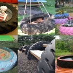 Ten Things to Can Make and Do With Old Tractor Tyres