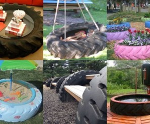 Ten of the Very Best Things to Make and Do With Old Tractor Tyres